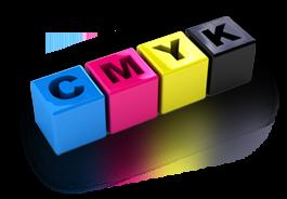 Vizitky v barevném profilu CMYK